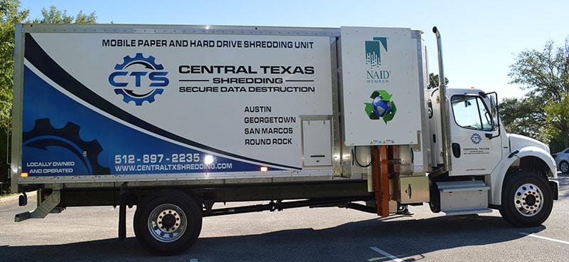 Shredding Service Truck Austin Tx